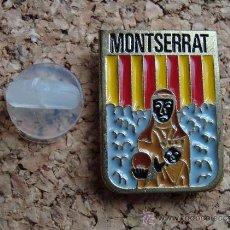 Spille di collezione: PIN CULTURAL, RELIGIOSO - MONTSERRAT, NTRA. SRA. DE MONTSERRAT - VIRGEN, LA MORENETA. Lote 36544697