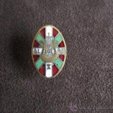 Pins de colección: ANTIGUO INSIGNIA / PIN DE OJAL PAIS VASCO (EUSKADI). ALEGERA. Lote 36643141