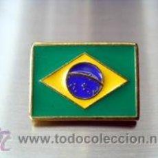 Pins de colección: PIN BANDERA BRASIL. Lote 46563088