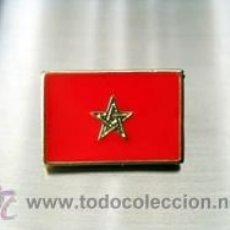 Pins de colección: PIN BANDERA MARRUECOS. Lote 51092403