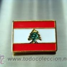 Pins de colección: PIN BANDERA LIBANO. Lote 46563085