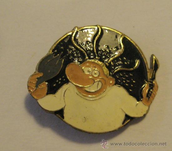 PIN DEL PERSONAJE DE COMIC MAKOKI. 2,5 X 2 CM (Coleccionismos - Pins)