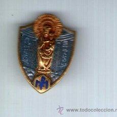 Pins de colección: PIN DE LA VIRGEN DEL CARMEN, ESCAPULARIO Y ESCUDO DE ACCION CATOLICA / LIGA DE PERSEVERANCIA Y MINER. Lote 37072842