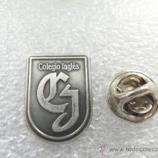 Pins de colección: PIN DE PLATA 925 - SELLADO - COLEGIO INGLES - EXCELENTE ESTADO, IGUAL A NUEVO. Lote 37083309
