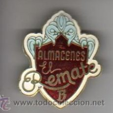 Pins de colección: PIN INSIGNIA DE AGUJA DE LOS FAMOSOS ALMACENES EL REMATE DE BARNA- MEDIDA MÁS GRANDE DE LO NORMAL. Lote 37224240