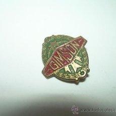 Pins de colección: ANTIGUA INSIGNIA.....MOTO GIMSON. Lote 38566259