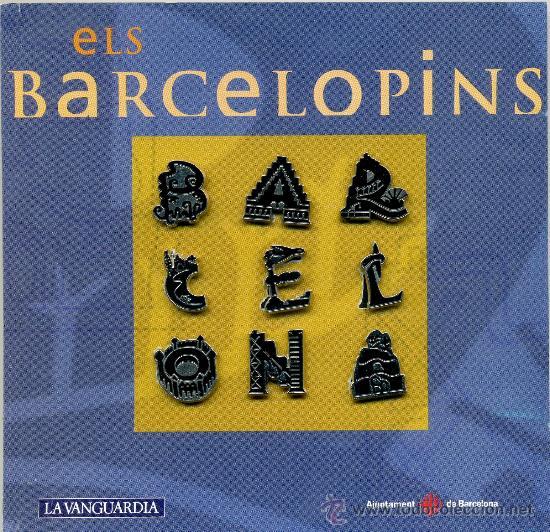 9 PINS - BARCELONA MERCÈ 96 (Coleccionismo - Pins)