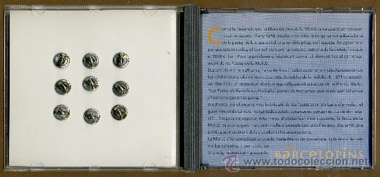 Pins de colección: 9 PINS - BARCELONA MERCÈ 96 - Foto 2 - 38733488