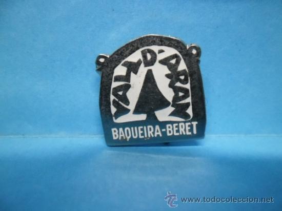 PIN VALL D'ARAN - BAQUEIRA BERET - AGUJA - ALFILER - IMPERDIBLE (Coleccionismo - Pins)