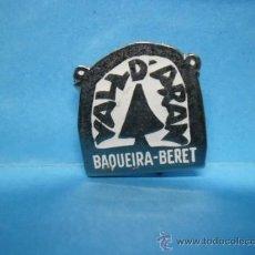 Pins de colección: PIN VALL D'ARAN - BAQUEIRA BERET - AGUJA - ALFILER - IMPERDIBLE. Lote 38746719