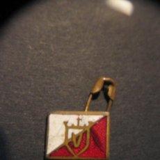 Pins de colección: PIN DE AGUJA/IMPERDIBLE. HIERRRO J.PEDRO DOMECQ.AÑOS 60.. Lote 39032285