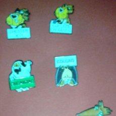 Pins de colección: LOTE DE 8 PINS DE LOS AÑOS 80 DE HUMOR. Lote 39638090