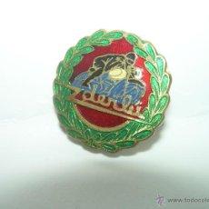Pins de colección: ANTIGUA INSIGNIA......MOTO DERBI. Lote 39672696