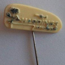 Pins de colección: ANTIGUA INSIGNIA AGUJA PARA SOLAPA HARDINGS PIN PINS INSIGNIAS . Lote 39682011