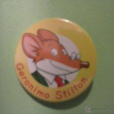 Pins de colección: CHAPA (PIN) GERONIMO STILTON. Lote 39863719