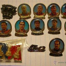 pin lote 14 pins jugadores del barcelona años 90