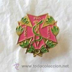 Pins de colección: INSIGNIA - PIN - FARMACIA - PRO SALUTE LABORA. Lote 39987981