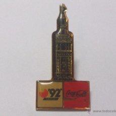 Pins de colección: PIN COCA COLA SEVILLA 92. Lote 39997328