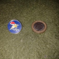 Pins de colección: ANTIGUO PIN (NO CHAPITA) AÑOS 80 PEPSI TEAM. MUY BONITO. Lote 40204230
