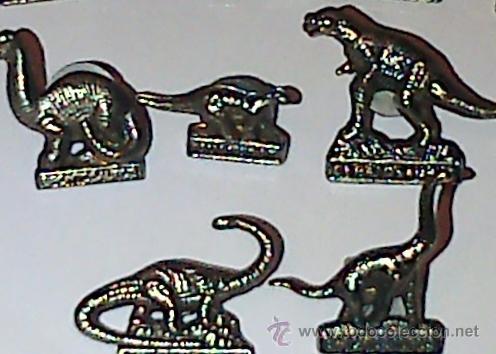 Pins de colección: 14 PINS METÁLICOS DE DINOSAURIOS, CADA UNO CON SU NOMBRE. - Foto 5 - 40707734