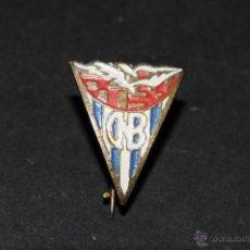 Pins de colección: ANTIGUO PIN O INSIGNIA CON AGUJA IMPERDIBLE CLUB NATACION BARCELONA. Lote 41424447