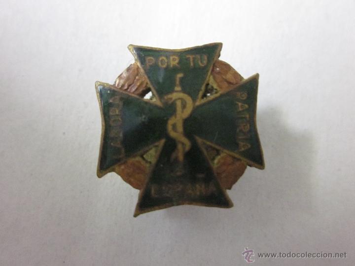 INSIGNIA LABORA POR TU PATRIA ESPAÑA - (V-421) (Coleccionismo - Pins)