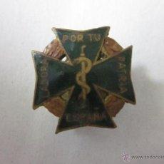 Pins de colección: INSIGNIA LABORA POR TU PATRIA ESPAÑA - (V-421). Lote 41579127