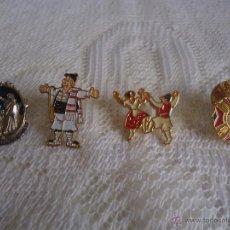 Pins de colección: LOTE PINS SEMANA SANTA MURCIA Y FIESTAS DE PRIMAVERA TIO PENCHO Y MÁS. Lote 41604243
