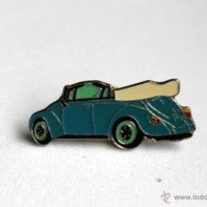 Pins de colección: PIN DE COCHES - VOLKSWAGEN ESCARABAJO, BEETLE - DESCAPOTABLE. Lote 41713361