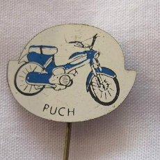 Pins de colección: PIN INSIGNIA DE AGUJA ANTIGUA MOTOS PUCH. Lote 41785686