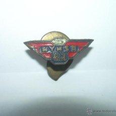 Pins de colección: ANTIGUA INSIGNIA.........MOTO MYMSA 125 C.C. ....ARAGALL. Lote 42247445