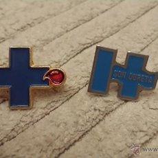 Pins de colección: LOTE 2 PINS MEDICOS O CRUZ ROJA. Lote 42358466