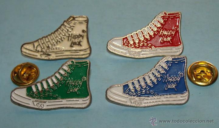 De ColoresHappy 4 Pins Zapatos Clásicas Luck Zapatillas OXZiTwlPku