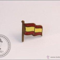 Pins de colección: PIN DE LA BANDERA DE ESPAÑA - MEDIDAS 11 X 11 MM. Lote 42825482