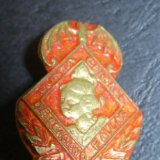 Spille di collezione: ANTIGUA INSIGNIA,PIN,EMBLEMA FALLA JUNTA CENTRAL DELEGACION FALLAS INFANTILES AÑOS 60-70. Lote 43063287