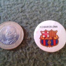 Pins de colección: ANTIGUA CHAPA CHAPITA (NO PIN) FUTBOL CLUB BARCELONA BARSA TENGO MAS CHAPAS Y PINS VEAN MIS LOTES. Lote 43238977