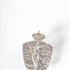 Pins de colección: PIN O INSIGNIA EN PLATA R.M C.C FIRMADA J.LLIMONA, CON AGUJA IMPERDIBLE. Lote 43253452