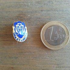 Pins de colección: PIN CON INSCRIPCION ORA ET LABORA (REZA Y TRABAJA) ESMALTADO. Lote 43279075