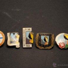 Pins de colección: PINS O INSIGNIAS ROMERIA SANTA MARIA DE SANTS DE AGUJA IMPERDIBLE. Lote 43498438