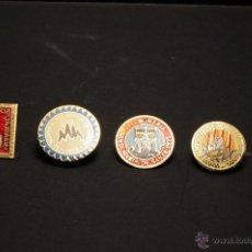 Pins de colección: PINS O INSIGNIAS ROMERIA SANTA MARIA DE SANTS DE AGUJA IMPERDIBLE. Lote 43498579