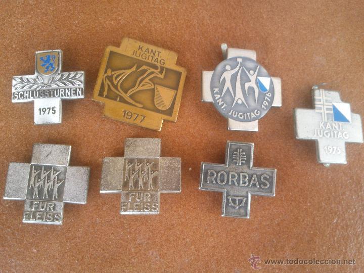 ANTIGUOS PINS EN METAL (Coleccionismo - Pins)