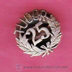 Pins de colección: INSIGNIA DE BATERIAS TUDOR. 25. ¿ANIVERSARIO?. Lote 43630147