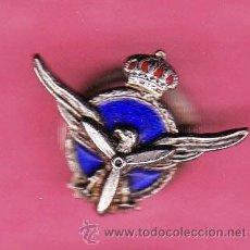 Pins de colección: INSIGNIA ESMALTADA SIMBOLO DE AVIACIÓN.. Lote 43640379