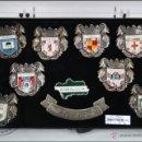 Pins de colección: CONJUNTO DE 10 PINS DE ANDALUCÍA - BAÑO PLATA DE LEY - MEDIDAS 30 X 28 MM CADA PIN - #PLS. Lote 43909548