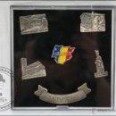 Pins de colección: CONJUNTO DE 6 PINS DE ANDORRA - MEDIDAS 25 X 22 MM - #PLS. Lote 43909616