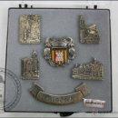 Pins de colección: CONJUNTO DE 6 PINS DE GIRONA / GERONA - BAÑO PLATA DE LEY - MEDIDAS 32 X 29 MM - #PLS. Lote 43909708