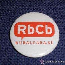 Pins de colección: PIN POLITICO - CHAPA CON IMPERDIBLE - PSOE. RUBALCABA (POLITICO). Lote 44016554