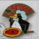 Pins de colección: PIN DE PUBLICIDAD AGRIGEL - PINGÜINO - MEDIDAS 22 X 22 MM - #PLS. Lote 44035796