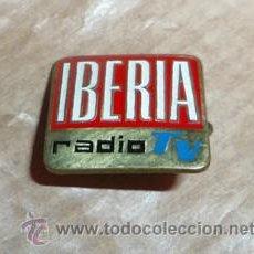 Pins de colección: PIN INSIGNIA DE AGUJA PUBLICIDAD DE RADIO TELEVISIÓN IBERIA. Lote 44217334
