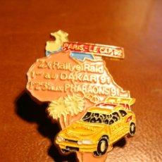 Pins de colección: PIN CITROEN ZX RALLYE RAID PARIS DAKAR 1992 CAMEL. Lote 44595607